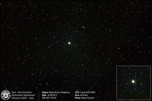 Bright Nova in Delphinus