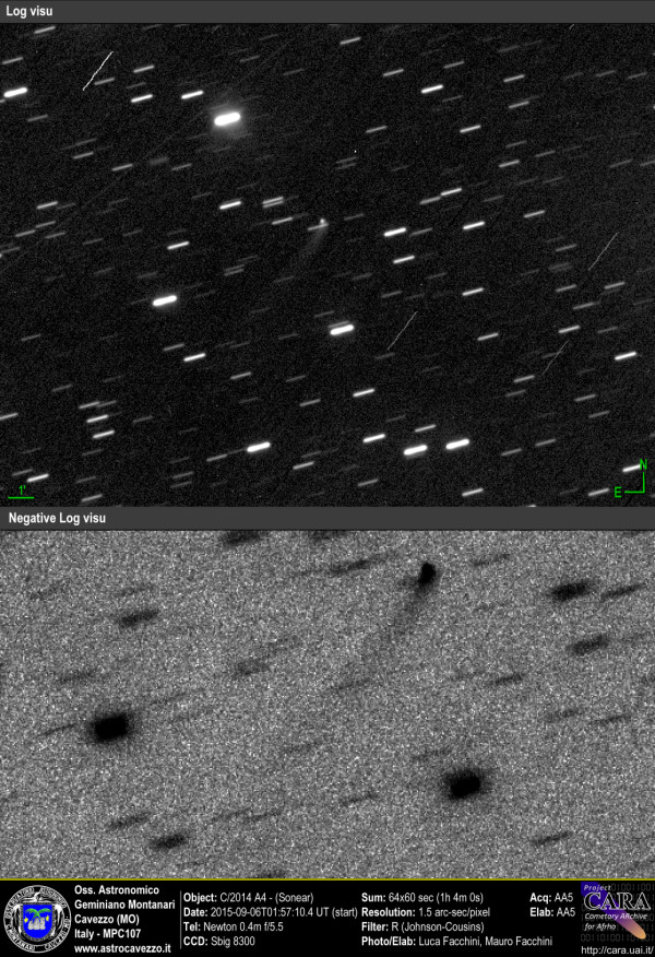 Comets: C/2014 A4 - Sonear
